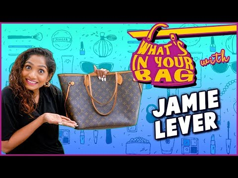 Jamie Lever Handbag Secret Revealed | What's In