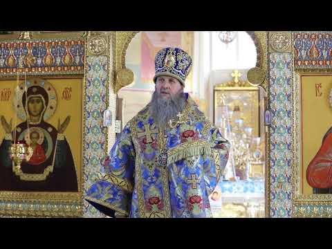 Митрополит Даниил совершил Литургию в Александро-Невском соборе в день Донской иконы Божией Матери