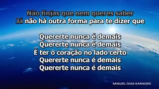 Diogo Piçarra – Coração (Karaoke) Versão