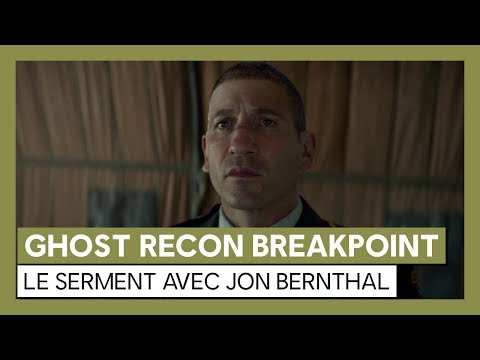 Tom Clancy's Ghost Recon Breakpoint : Trailer live action avec Jon Bernthal