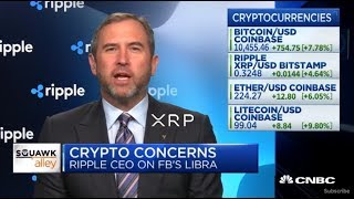 XRP And Ripple CEO Brad Garlinghouse Appear On CNBC