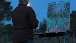 Painting the Pink Moon