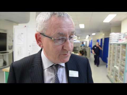 Visiting A&E at Bradford Royal Infirmary