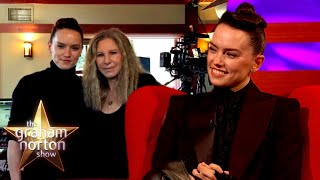 Daisy Ridley Can't Believe She Recorded A Song With Barbra Streisand | The Graham Norton Show