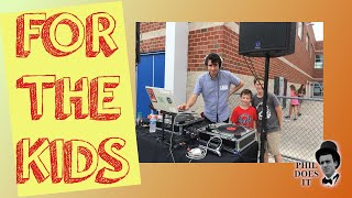 DJ Phil Does It - For the Kids: Minute-Long Dancefloor Footage Compilation From Events with Minors