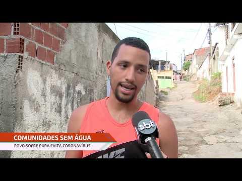 População do Grande Recife reclama de falta de água para prevenção do coronavírus