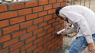 Easy way to make brick wall
