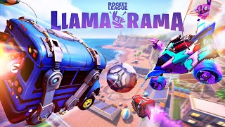 Rocket League Llama-Rama Event Trailer