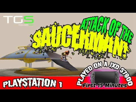 Attack of the Saucerman ! Playstation