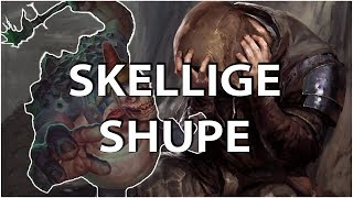 Gwent: The Witcher Card Game - Skellige Shupe deck - King Bran Gameplay