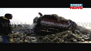 Matchbox Loaded Truck Catches Fire After Accident In Balasore