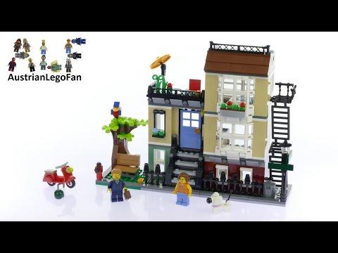 Vidéo LEGO Creator 31065 : La maison de ville
