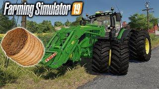 First 4k Farming simulator 19 vid | Feeding Hay to my Horse