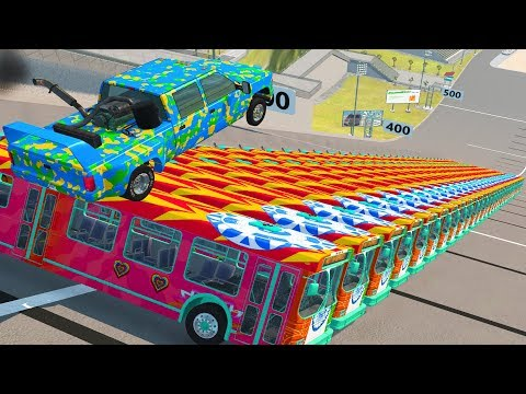 Beamng Drive - BUS RIOT #1