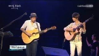 "Video thumbnail of ""Jason Mraz ft. Sungha Jung - 93 Million Miles / I won't give up (May 31, 2013)"""