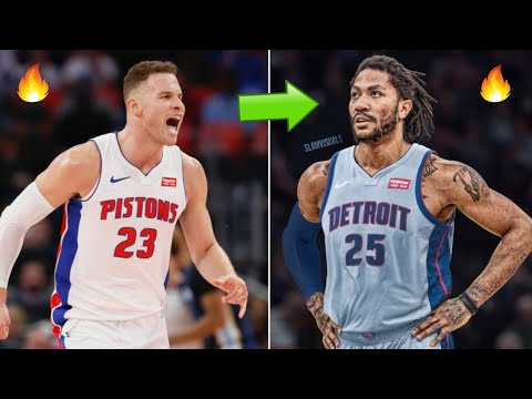 How Derrick Rose Fits With the Detroit Pistons! | Underrated Signing After Kevin Durant to Nets!
