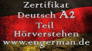 Zertifikat Deutsch A2   Start Deutsch A2   Modelltest 1