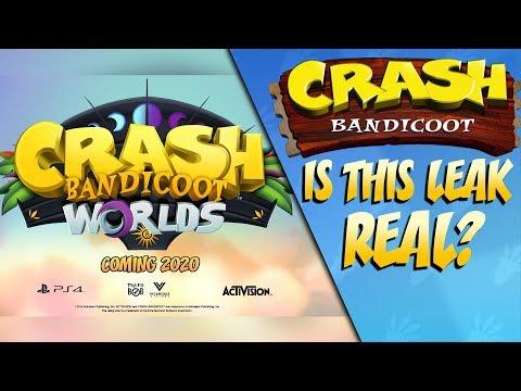 Is The Crash Bandicoot Worlds Leak Real?