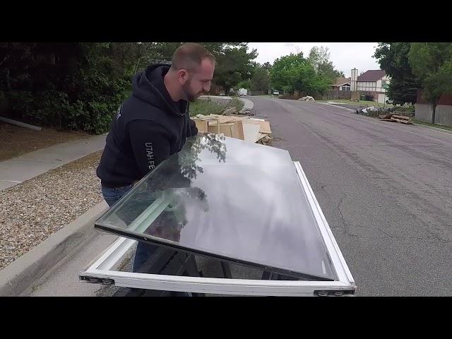 glass pet door installation Fort Worth