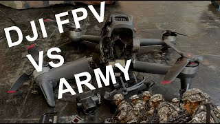 DJI FPV VS ARMY (CRASH) !!!