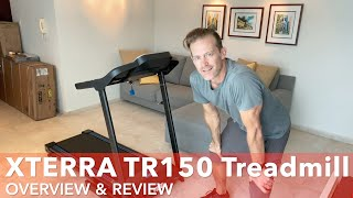 XTERRA TR150 Treadmill Overview & Review