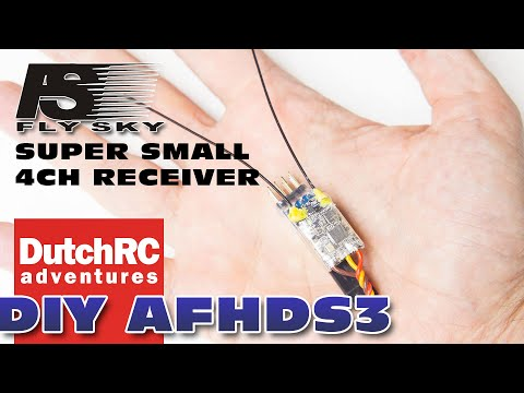 a SMALL DIY 4-channel receiver for the Flysky PL18 Paladin??
