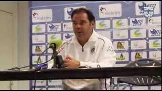 preview picture of video 'Les réactions après le match Créteil-Angers lors de la 10ème journée de Ligue 2'