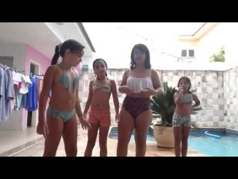 Desafio da piscina!!!! Participação: Eduarda de lima Marian