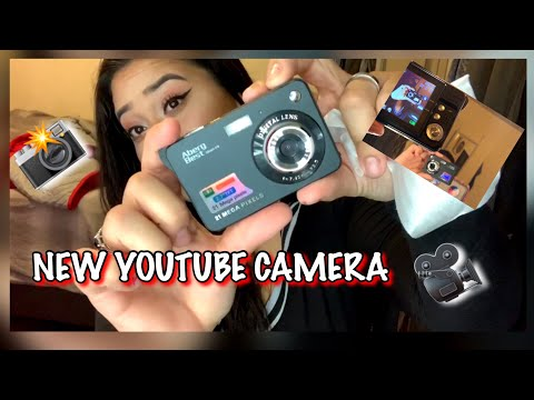 MY FIRST YOUTUBE CAMERA (SUPER CHEAP) |AbergBest 21 MegaPixels|