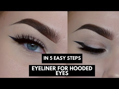 EYELINER FOR HOODED EYES IN FIVE STEPS | Anna Jeanine