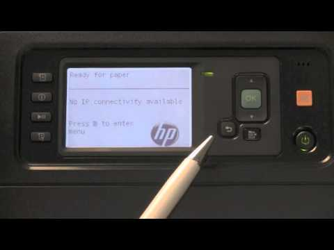 HP Designjet Z6200 - Product Walk-Around and Front Panel Navigation