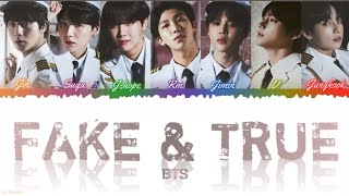 How Would BTS Sing 'FAKE & TRUE' by TWICE (Eng/Kan/Rom) Lyrics (FANMADE)