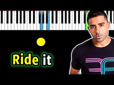 Jay Sean - Ride it | Piano_Tutorial | Разбор | КАРАОКЕ | НОТЫ + MIDI