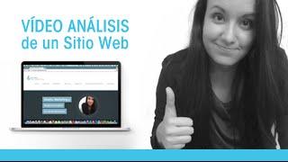 Vídeo Análisis de un Sitio Web