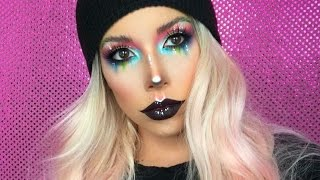 COLORFUL FACE CHART MAKEUP   LUSTRELUX