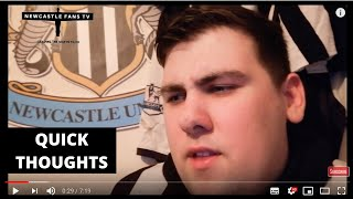 Quick thoughts | Man United 4-1 Newcastle