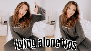 Living ALONE: Best Tips + Advice (loneliness, responsibility)