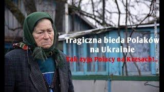 Tragiczna bieda w zapomnianej polskiej wsi na Ukrainie