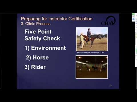 Preparing for CHA Instructor Certification Webinar - YouTube