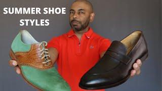 7 Summer Shoe Styles Every Man Needs