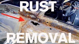 Step by Step Rust Removal: AMMO Porsche 964