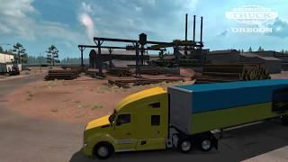VideoImage2 American Truck Simulator - Oregon