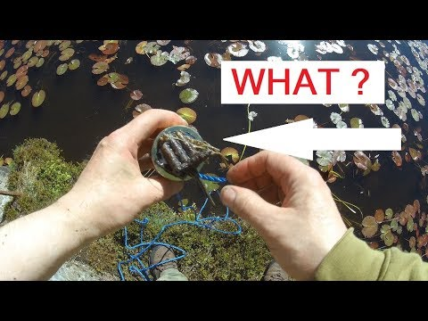 Magnet fishing German WW2 pond .Mystery ammo and more..