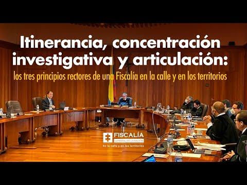Fiscal Francisco Barbosa presentó balance de su gestión ante la Corte Suprema de Justicia