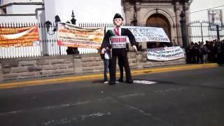 Quema de EPN en protesta 2015.