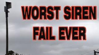 WORST SIREN FAIL I'VE EVER SEEN I WPS-4004 I Norridge, IL