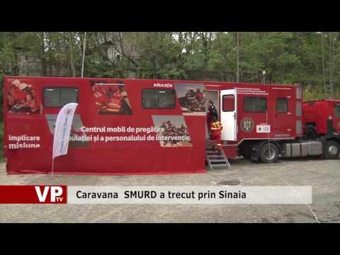 Caravana SMURD a trecut prin Sinaia