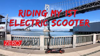 First Time Ever Riding an Electric Scooter | Zero 10x | GoPro Hero 7 RAW FPV Footage San Francisco фото