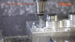 Takumi USA CNC Machine Tools – Supercharger End Plate Mold Demo Cut