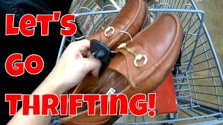 Trip To The Thrift | Shopping For Menswear Items (Suit Supply, Allen Edmonds, Polo)